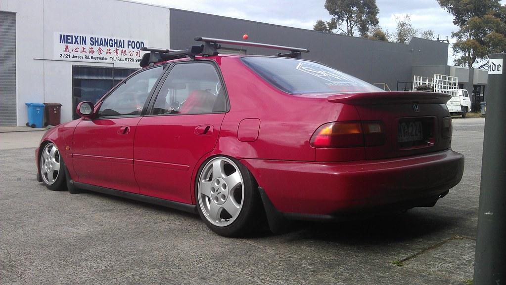 Oxer: New Honda Civic - Jessica 6507549229_7f3985434e_b