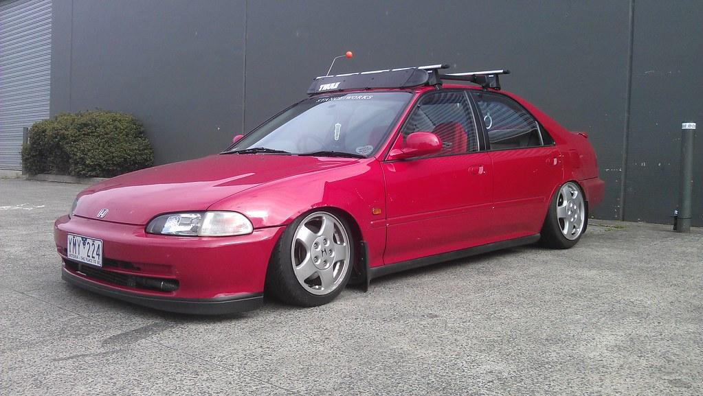Oxer: New Honda Civic - Jessica 6507547229_0152038b37_b