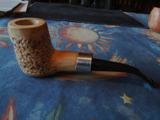 First attempt at making a poker pipe. 6720226385_e1b06dac0e_z
