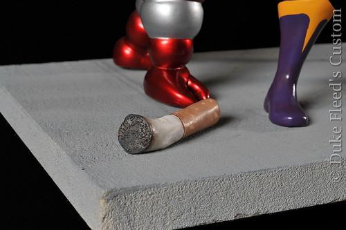Diorama Mikros sculpt Barbarian Fan Paint Duke Fleed 6952568235_06897a8bfb