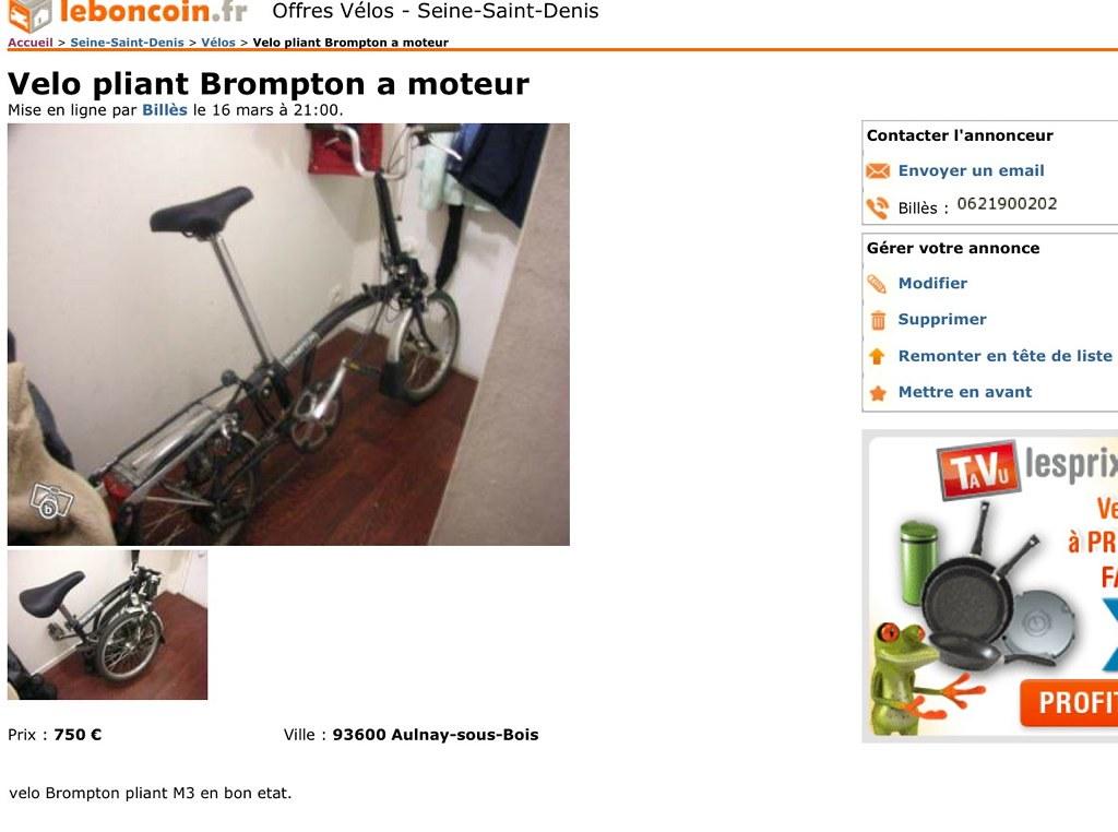 """Vente de Brompton : annonces """"ultra hyper suspectes"""" - Page 4 6992360847_c7c2d29093_b"""