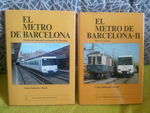 Llibres El Metro de Barcelona vol.1 i vol.2 de Carles Salmerón i Bosch 6982306220_d36fa85ce7