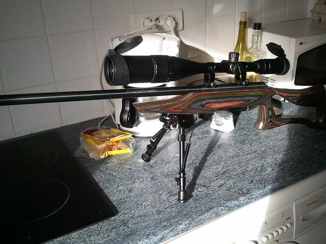 Browning tronbone & Savage MkII FV Custom 6810599476_b2253ce70a_z