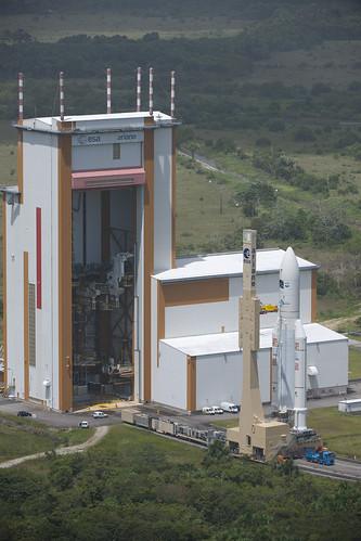 Ariane 5 V205 [ATV-3]: Lancement 7003400733_f0b76d43f3