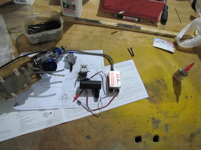 Motor 9 cc 2 T gasolina  7257904368_8223154107_z