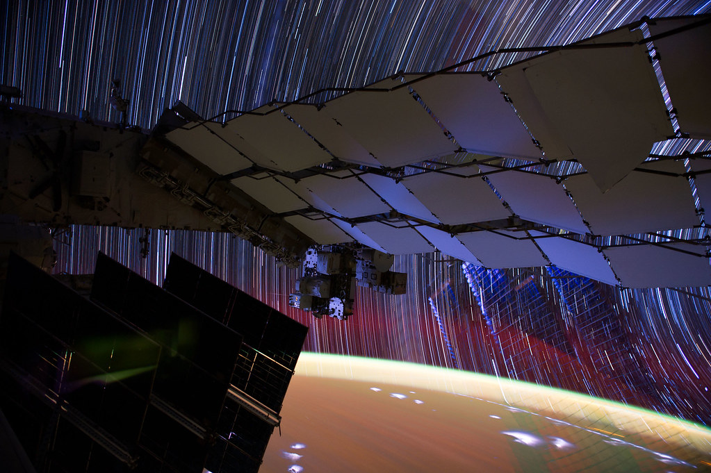 """[ISS] """"ISS star trails"""" 7216878420_70c6b85a39_b"""