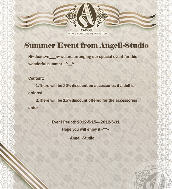 Angell-Studio: Summer Event 7201415832_f55f8192fa_z