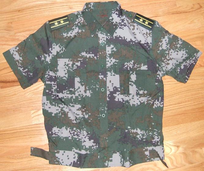 Chinese Type 07 digital urban camo polyester dress shirt & trousers 6386672457_1e2429c16f_b