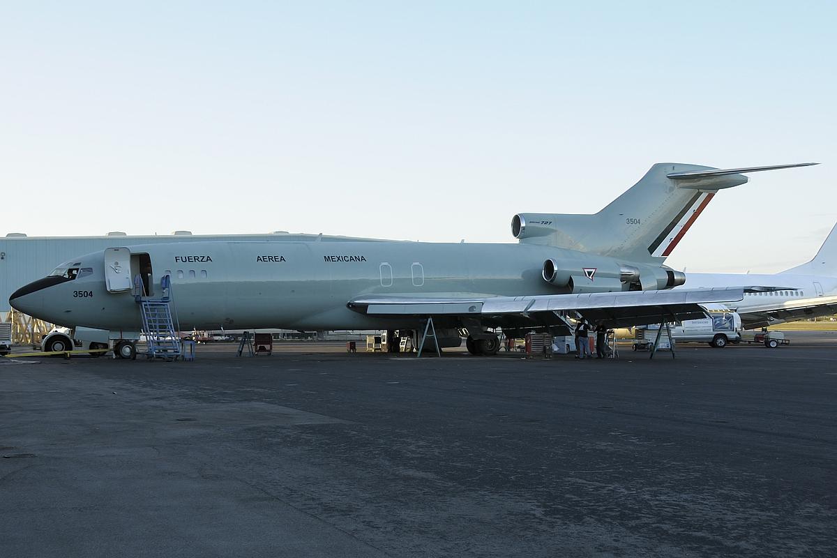 Boeing 727 Fuerza Aérea Mexicana 6484148133_efe53ca458_o