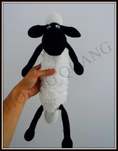 Móc thú bằng len sợi
