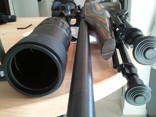 Browning tronbone & Savage MkII FV Custom 6810582868_33a39dd7de_z