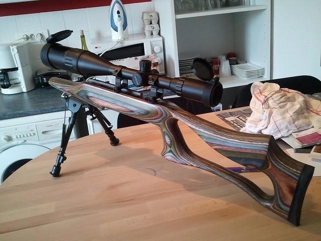 Browning tronbone & Savage MkII FV Custom 6797550326_48b75b9de0_z