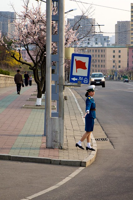 OH NO! PYONGYANG TRAFFIC LADIES BEING RETIRED ?? - Page 2 6969487310_c4ffafb8a0_z