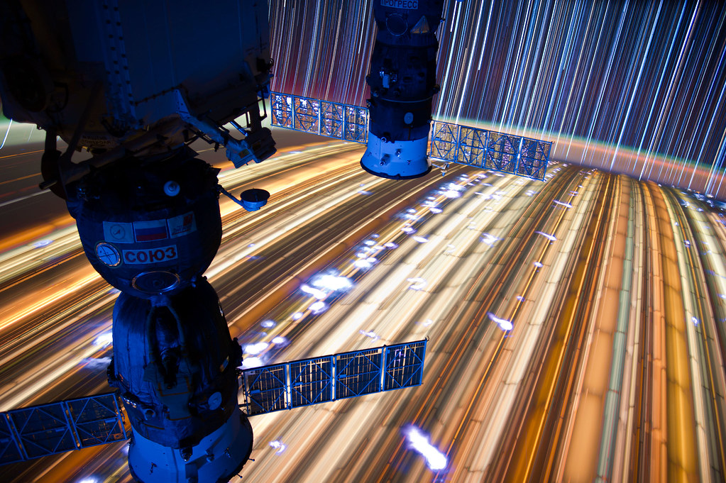 "[ISS] ""ISS star trails"" 7186867293_ee384e5a23_b"