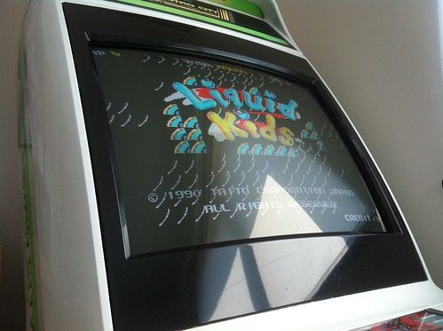 JAMMA PCB - Glitch Graphique / Liquid Kids Taito 7162595541_9908c5e8a6