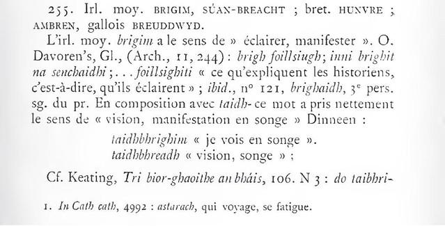 eng. dream, d. Traum, fr. rêve, rêver, rêvé en breton: huñvre etc. 7396321844_aabd401cf3_z