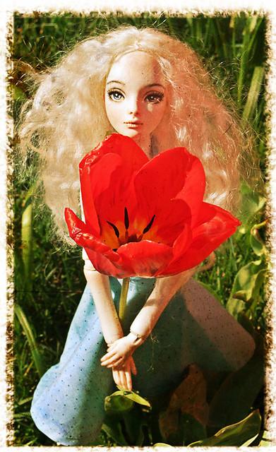 Авторские куклы - разных авторов 7070946111_847403674a_z