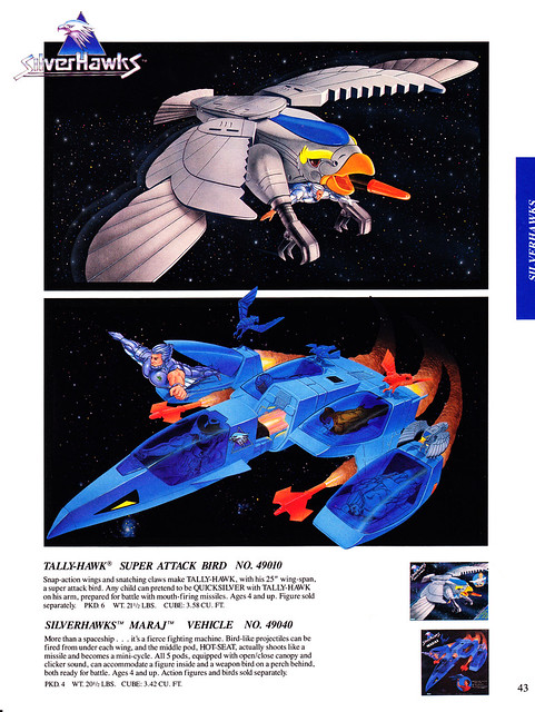 Silverhawks (KENNER) 1987 - 1988 6851375600_91972d62bc_z