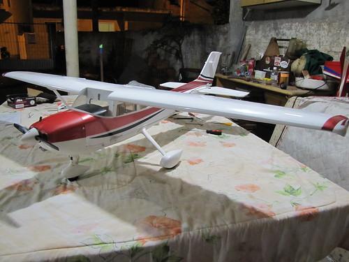 Montagem do Cesna 40 The World Models 7608936426_63cab172df
