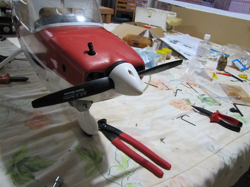 Montagem do Cesna 40 The World Models 7604805976_f6b9ecd013