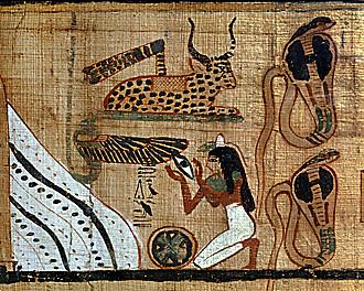 Papiro: libro de los  muertos de Henuben 7684687448_6388f46709