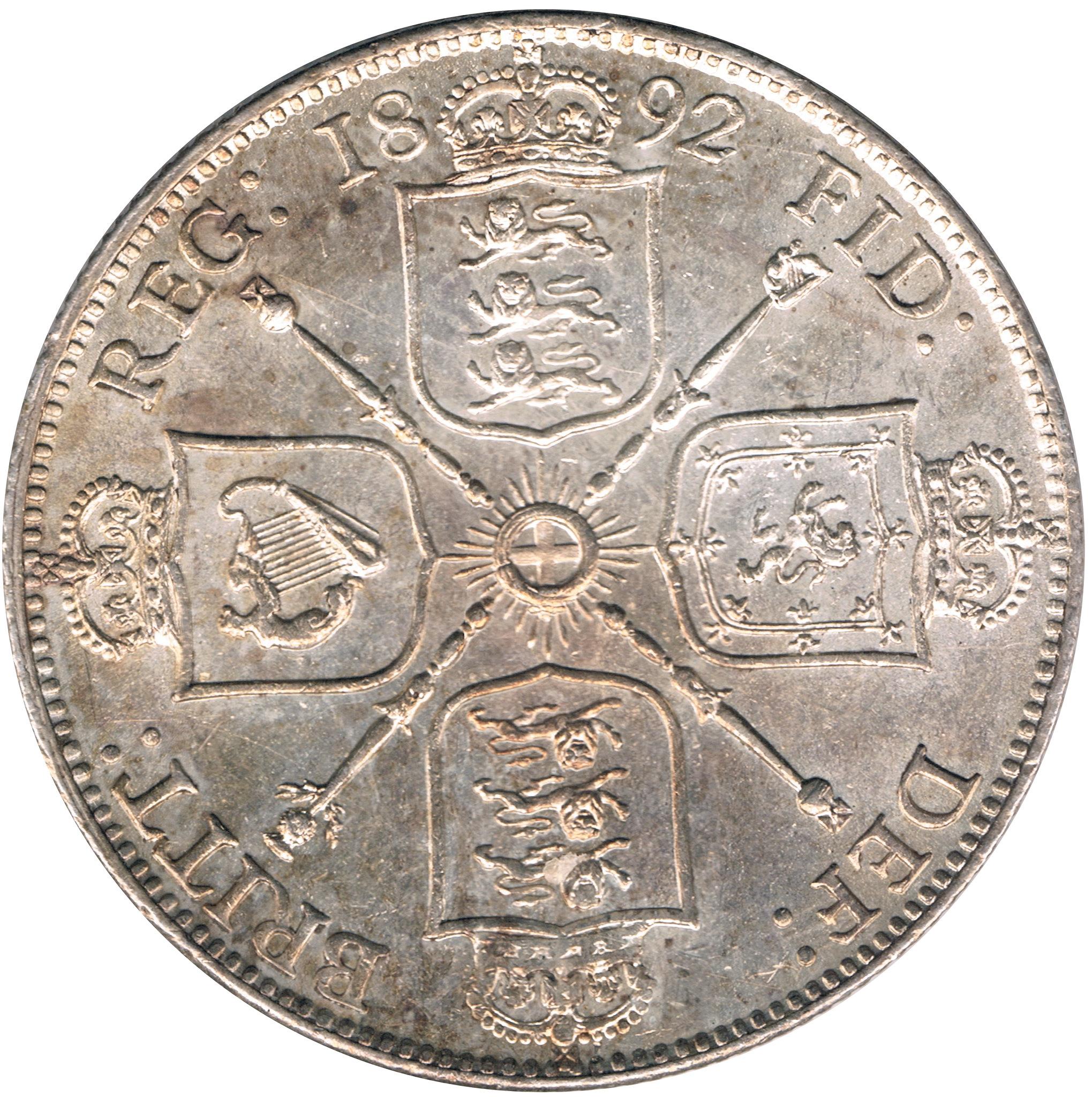 1 Florin 1982 Gran Bretaña Queen Victoria 8737072235_388be779bc_k