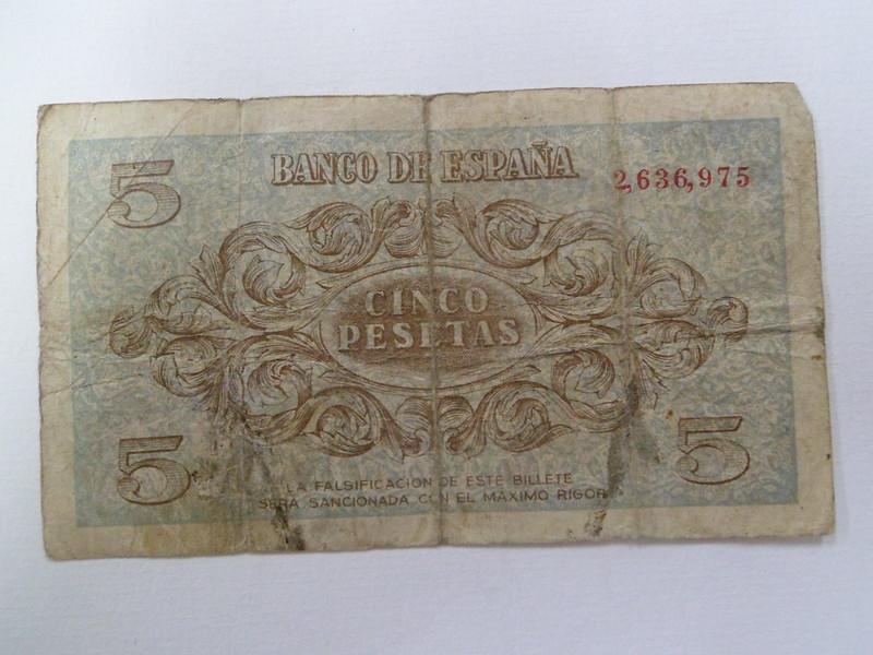 5 Pesetas 1936 (Sin serie - Burgos) 11993410343_c194d158f7_c