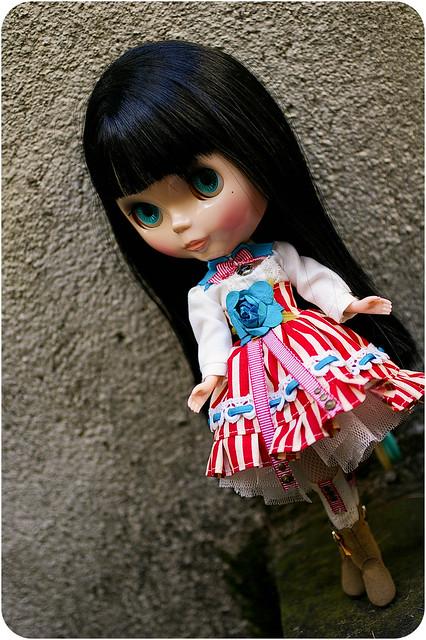 French stripes! [Emmaleigh - Bow Wow Trad] & MH Clawdeen 11383378225_2e662b9e9a_z