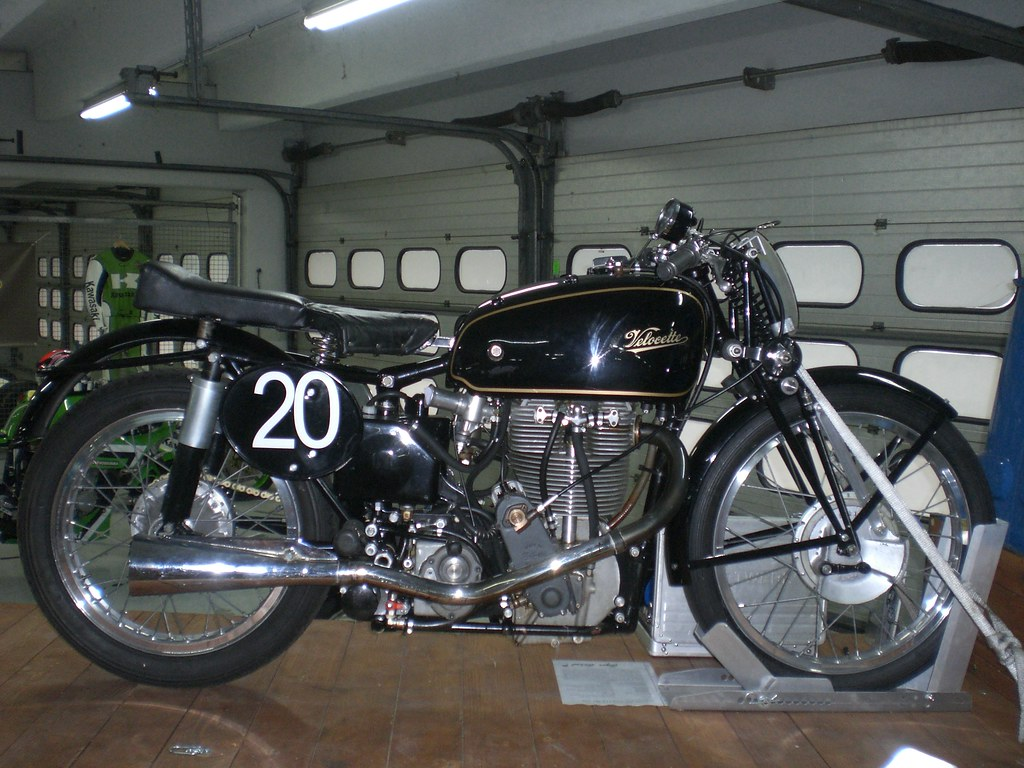 Velocette MT 500 OHC 1939 Factory Racer
