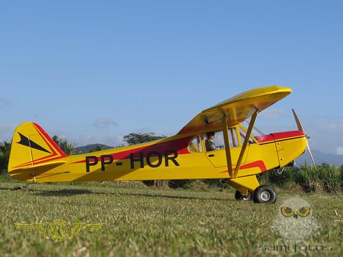Repaginação de um Piper J-3 para um Neiva P56 C Paulistinha  9543977631_c8eb8330f0