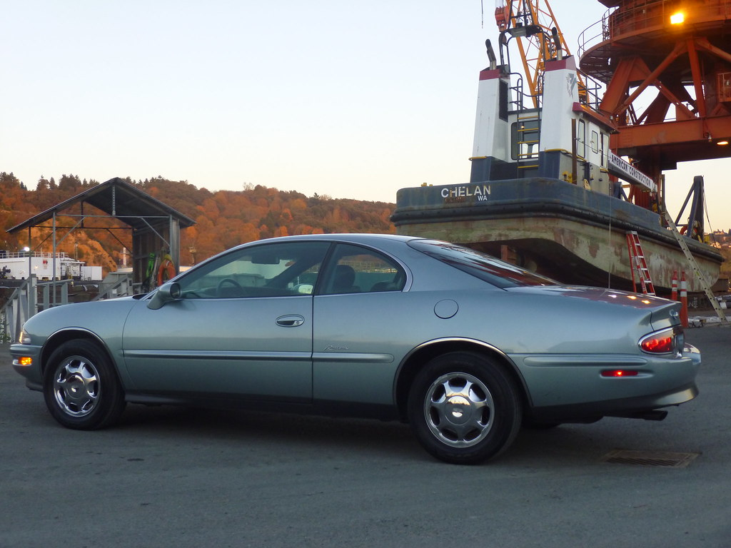 My new 1996 Riviera -- Light Jadestone Metallic, normally aspirated 10567921315_d29bc02f7b_b