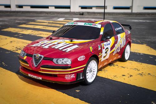 tamiya - Tamiya FF02 Alfa Romeo 156 Racing 11248520836_096342bdb2