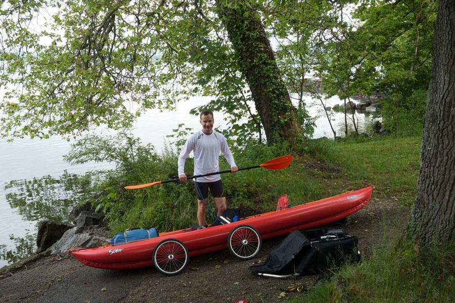 Balades collectives en vélo-kayak : préparatifs du matériel et questions logistiques  [projet de Pouille] 9351757199_7a3063f0b1_o
