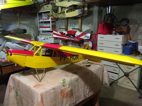 Repaginação de um Piper J-3 para um Neiva P56 C Paulistinha  9479980920_1da67cd080