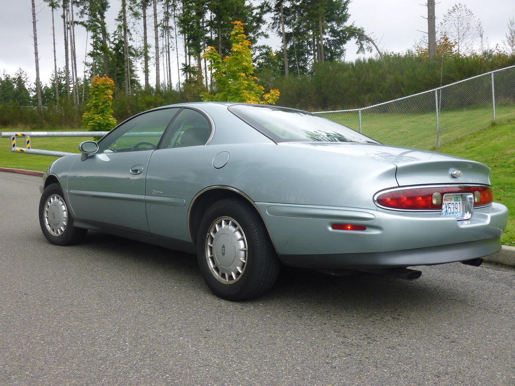 My new 1996 Riviera -- Light Jadestone Metallic, normally aspirated 10240133223_5b75684a8a_b