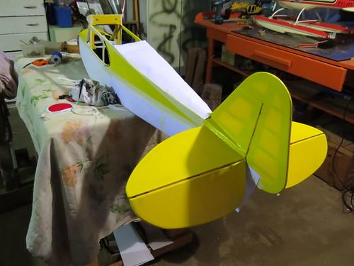 Repaginação de um Piper J-3 para um Neiva P56 C Paulistinha  9480179348_345bd901e4