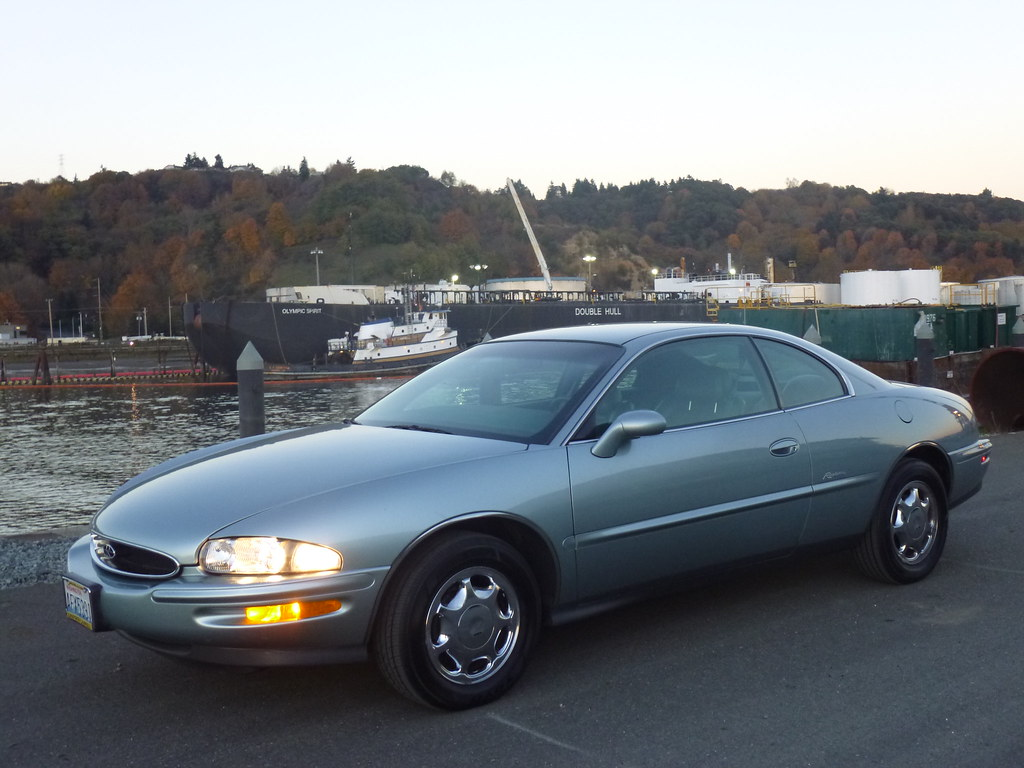 My new 1996 Riviera -- Light Jadestone Metallic, normally aspirated 10568171713_726c07fdc5_b