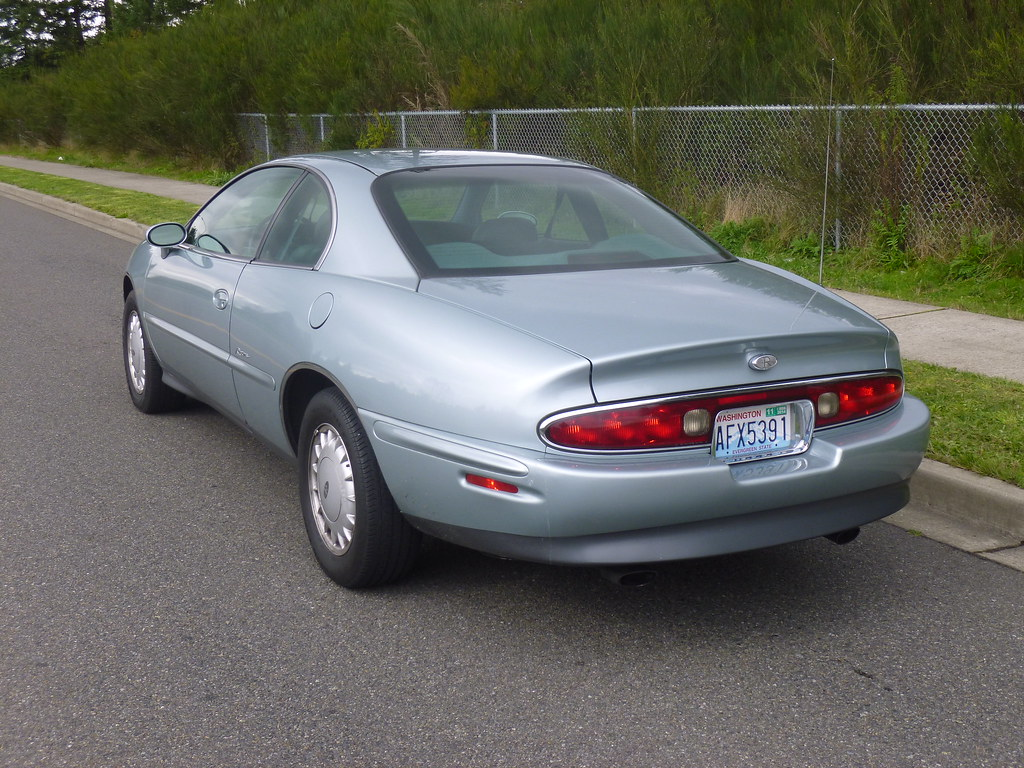My new 1996 Riviera -- Light Jadestone Metallic, normally aspirated 10240043155_8fec92cbaa_b