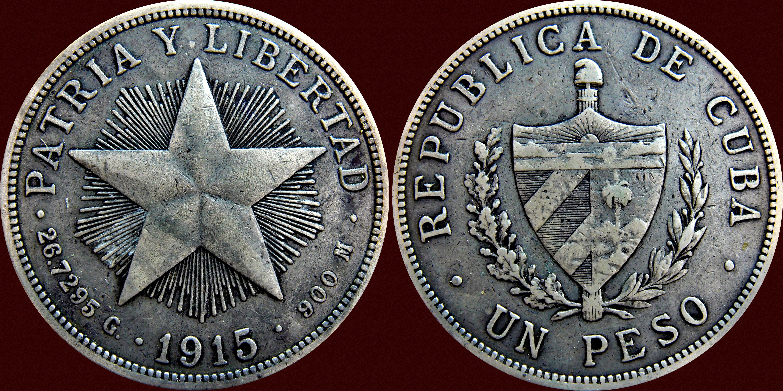 1 Peso. Cuba 1915 13018192294_016b6402bb_o