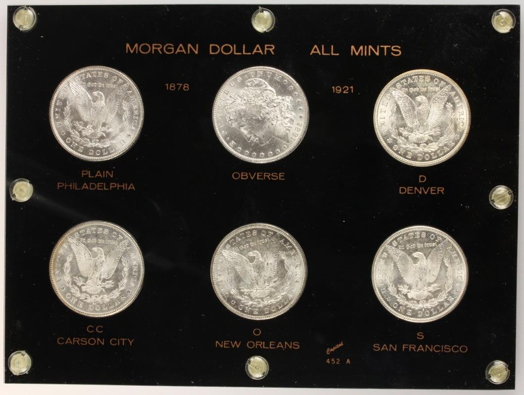 dolar Morgan - Colección de Dolares Morgan - Todas las cecas 10743182005_8f74d0453c_o