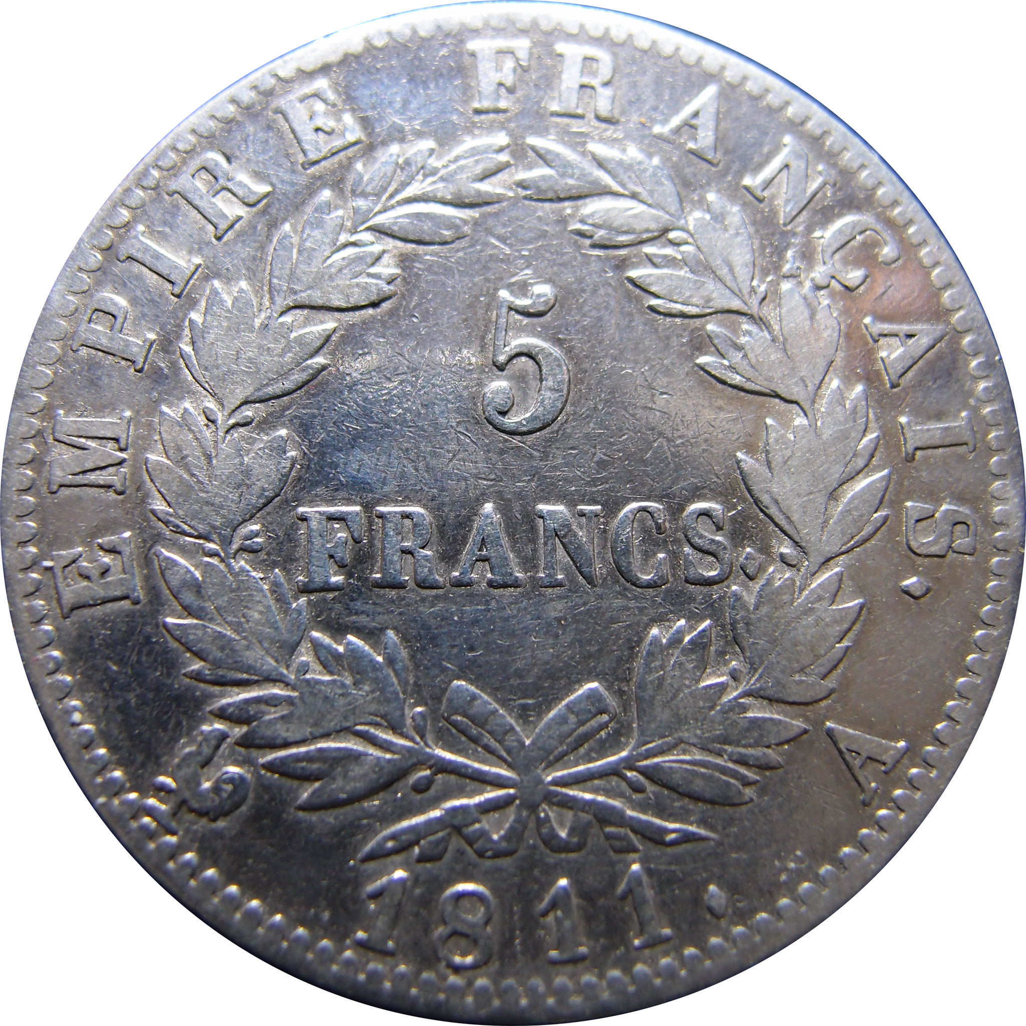 5 Francs. Francia. 1811. París 8756934049_68f52c4494_k