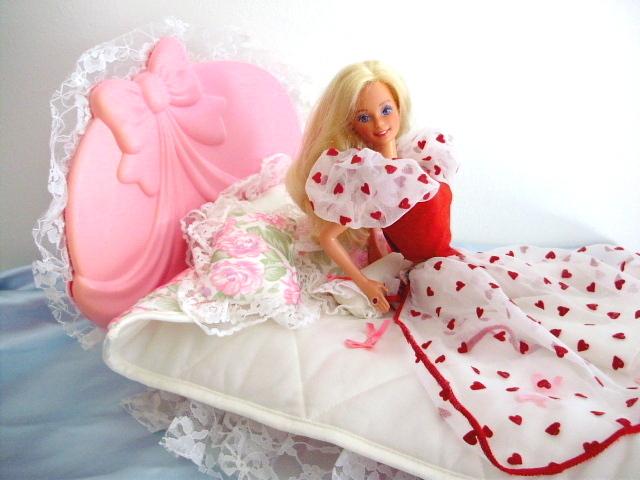 Barbie´s rose bed 1986-87