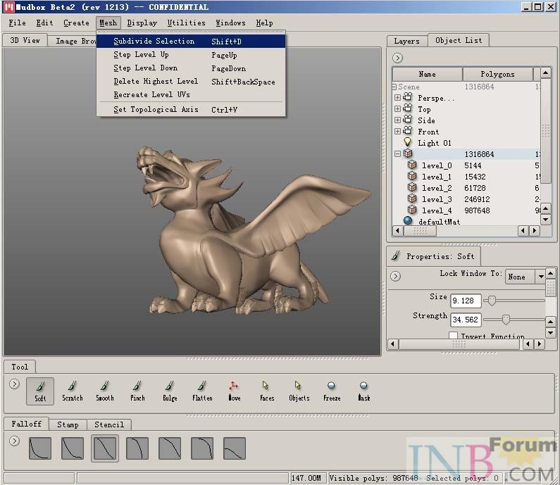 Уроки Mudbox Простой и быстрого прототипирования 11959974454_2bb900728a_o