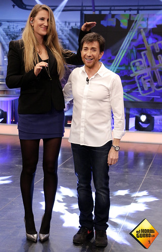 ¿Cuánto mide Pablo Motos? - Estatura real: 1,65 - Real height 8699171225_9087656cd3