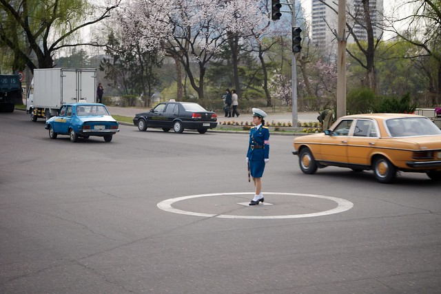 OH NO! PYONGYANG TRAFFIC LADIES BEING RETIRED ?? - Page 2 6981349600_a76afbf1a0_z