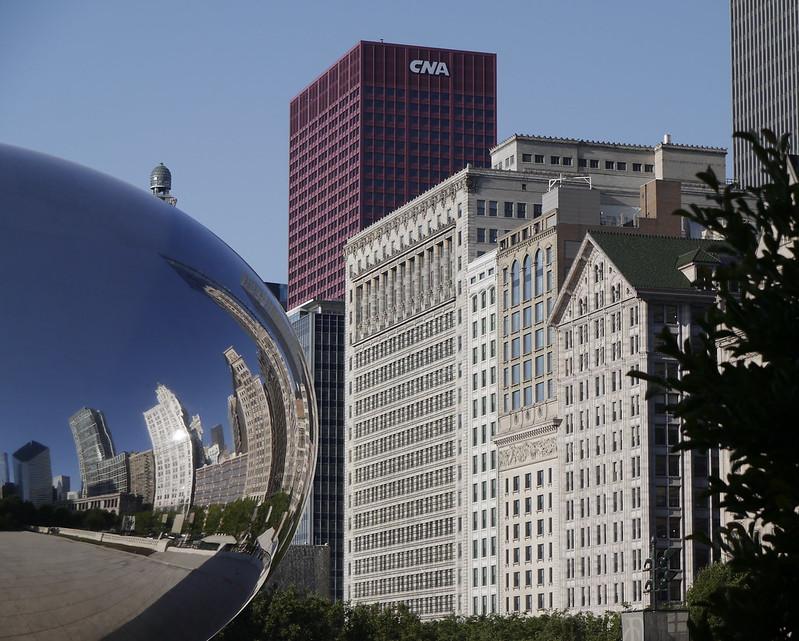 Reflets - Chicago 7186071259_d4db7c333c_c