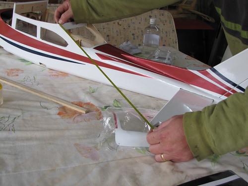Montagem do Cesna 40 The World Models 7591998294_7f2d0d8457