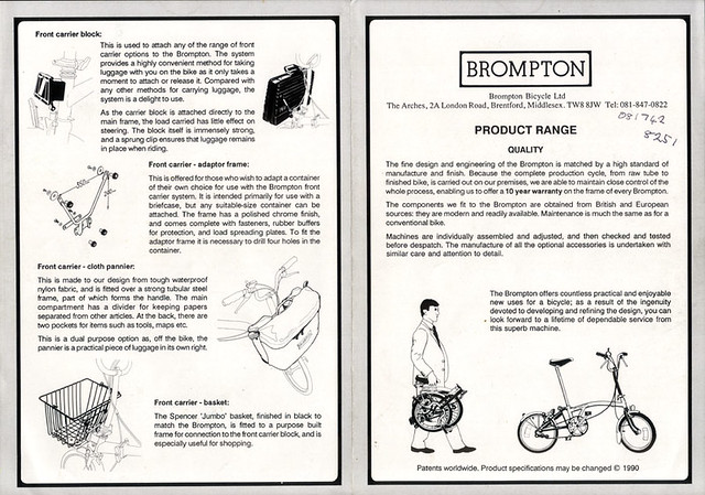 Mes nouveaux Brompton - Page 3 7557423192_4c0bf43508_z