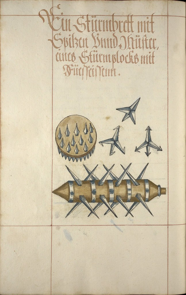[iconographie] 16e Ms. Codex 109 - Feuer Buech Grenades, projectiles, fireworks... 8217310624_9fba59b6a8_b