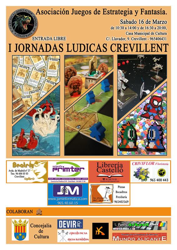 I JORNADAS LUDICAS CREVILLENT (Sábado 16 de Marzo 2013) 8539805871_cc07a62dbd_b